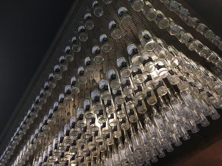 Man behöver inte alltid fusa flaskorna...bara börja drick en massa öl, räknar nu med vacker hår och långa hårda naglar på köpet av all B-vitamin tillskott;) Whish me luck👍 #lis1design #lis1 #industrialdesign #inspiration #london #londoninspired #fusing #remake #recycled #recycledart