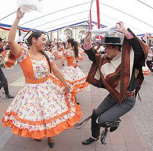 Origen del baile nacional la Cueca // Origin of the national dance cueca