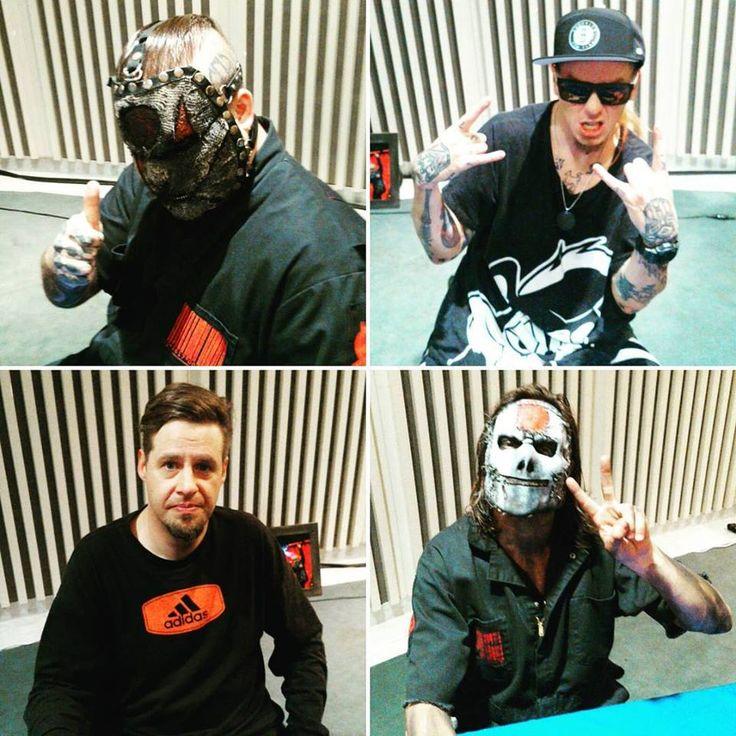Alessandro Venturella, Sid Wilson: Unmasked, Chris Fehn: Unmasked & Jay Weinberg (Slipknot)