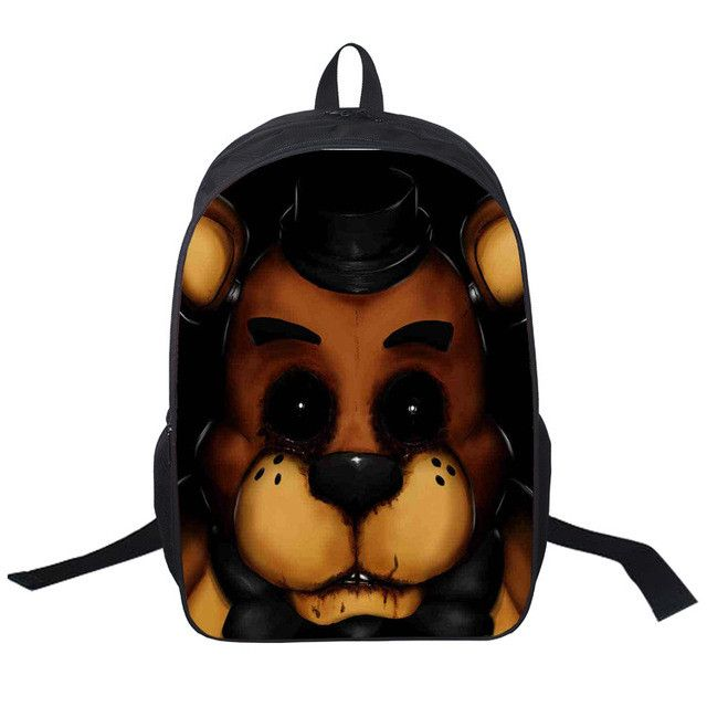 Five Nights At Freddy Backpack Boys Girls School Backpacks Children Cartoon School Bags Kids Bookbags 16 Inch 2017 New Arrivals
