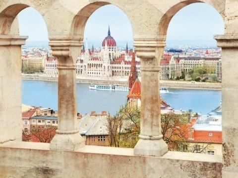 River cruise along the Danube