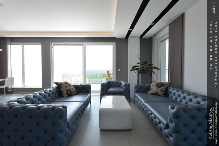 Living room - Exceptional luxury designer penthouse for sale