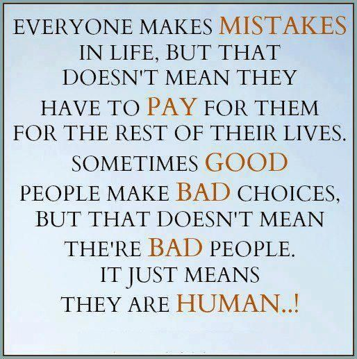 Messed Up Life Quotes: Best 25+ Everyone Makes Mistakes Ideas On Pinterest