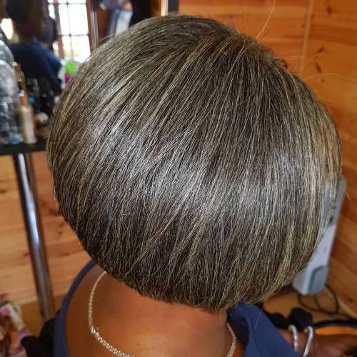 how to give a haircut 60 gorgeous gray hair styles hair bobs 2038