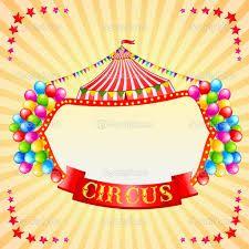 Resultado de imagen para carteles de circo