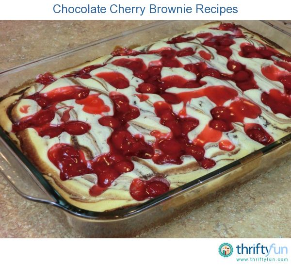 This page contains chocolate cherry brownie recipes. A special ...