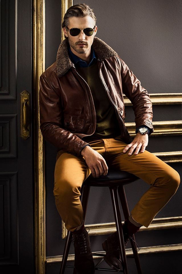 GIO KATHLEEN: Ben Hill for Massimo Dutti FW13 Men Collection