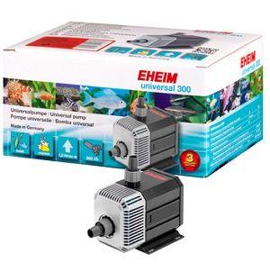 Bombas de água universais de qualidade Eheim.Preparadas para funcionar dentro ou fora de água. Compatíveis com filtros, esterilizadores UV e outros equipamentos.