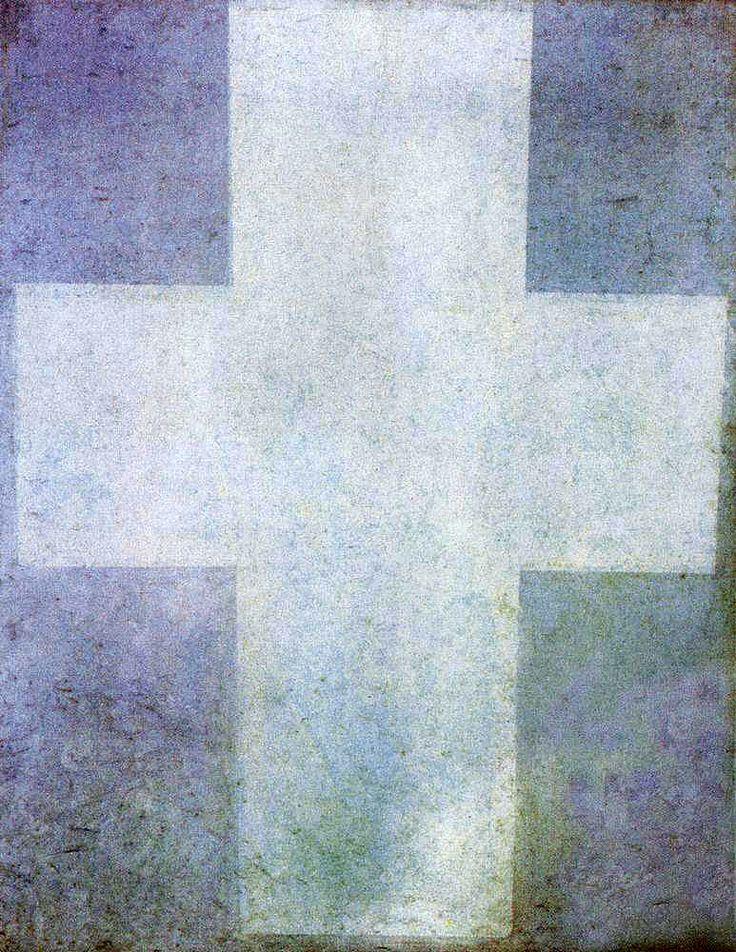 Казимир Малевич«Белый крест»