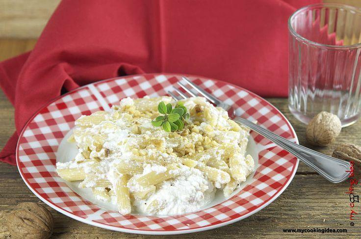 Pasta con ricotta per la giornata mondiale della pasta