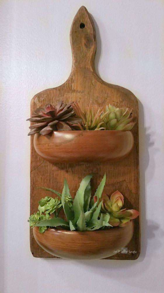 Riciclo creativo di un vecchio tagliere in legno! Ecco 20 idee a cui ispirarsi…