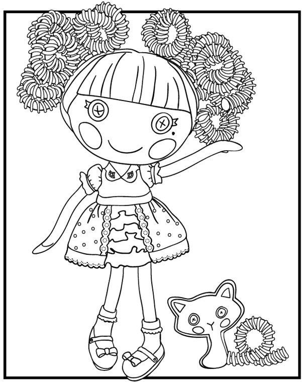 Lalaloopsy Coloring Pages Pdf : Best lallaloopsy images on pinterest lalaloopsy