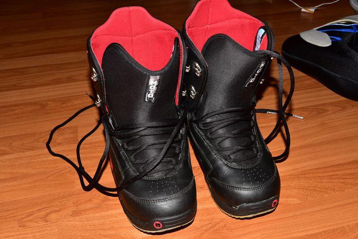 Pre-Owned Burton Moto Women Imprint 1 Liner Snowboard Boots Size 10