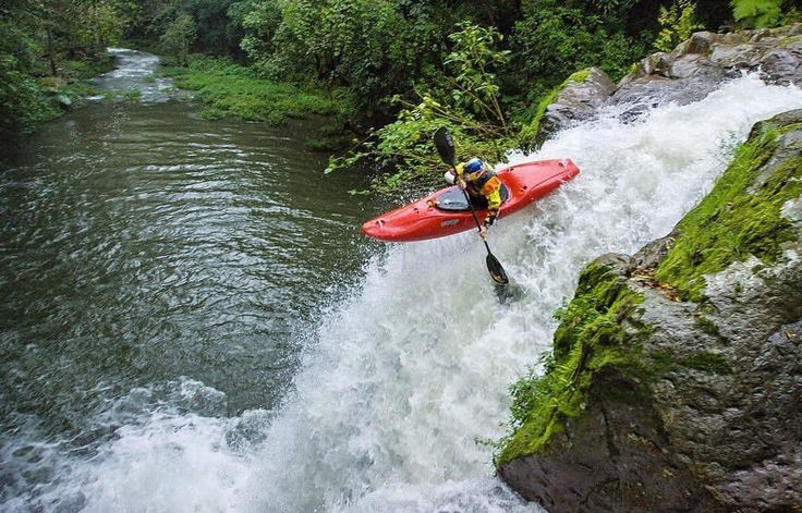 """R I V E R R O O T S -  Dane Jackson kayaking in Veracruz with a new toy!! #riverrootscrew"""""""