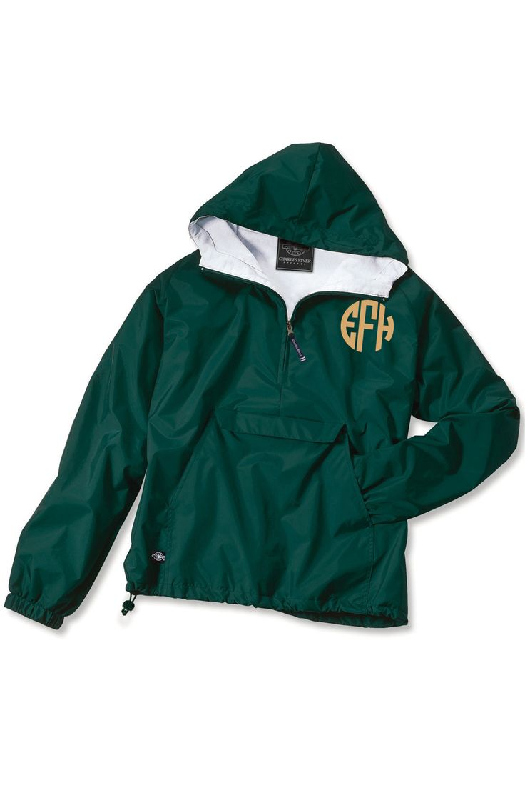 Charles River Classic Solid Pullover, Forest #9905 *Customizable!