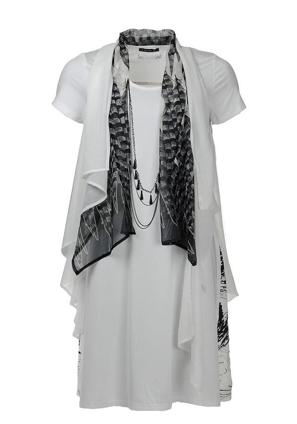 Exquiss's Tunic Top, White