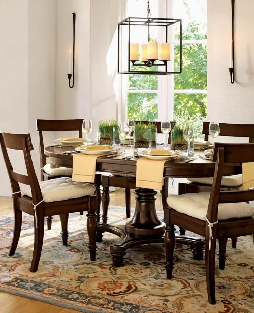Montego Growing Round Dining Room Table From Pottery