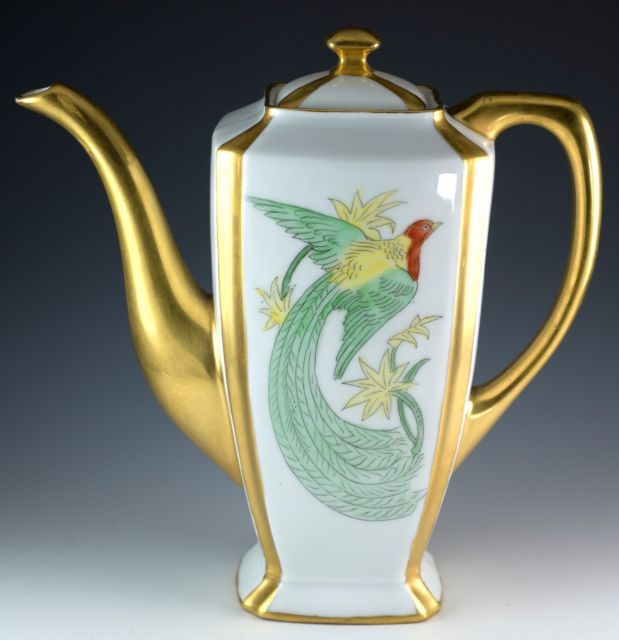 Vintage 14 Pcs H C Schlaggenwald PA Arzberg Tea Pot Set Czechoslovakia Bavaria | eBay