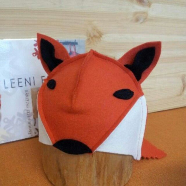 Leeni Finland saunahat, model fox. Size 50-58. #leenifinland #sauna #saunahat #100%wool