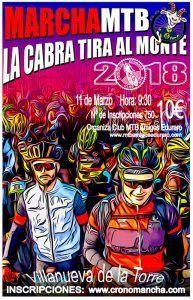La cabra sigue tirando para el monte y las bicicletas tratarán de seguirla desde Villanueva el próximo 11 de marzo