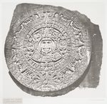 FREE printable photos & illustrations from the New York Public Library.  Calendrier Aztec, à Mexic