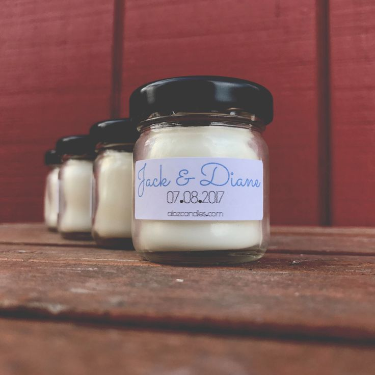 Wedding Gifts For Vegans : Wedding Favor Candles, Wedding Favors, Vegan Wedding, Wedding Date ...