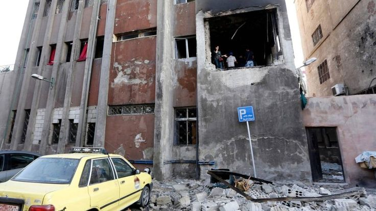 Syria war Suicide bombers target Damascus police station - BBC News #757Live