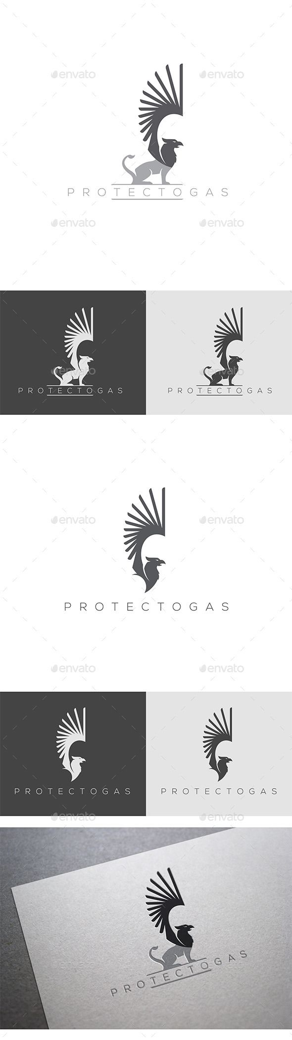 Griffin  Logo Design Template Vector #logotype Download it here: http://graphicriver.net/item/griffin-logo-template/9953334?s_rank=609?ref=nesto