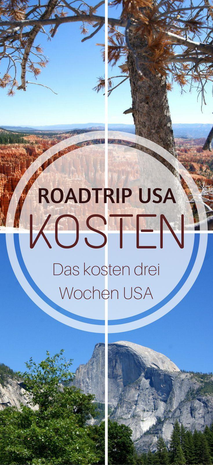 Liste der Kosten: Das kostet ein Roadtrip durch die USA