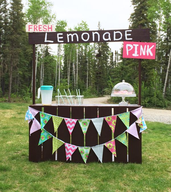32 best images about lemonade stand on pinterest ana white lampshades and charity. Black Bedroom Furniture Sets. Home Design Ideas