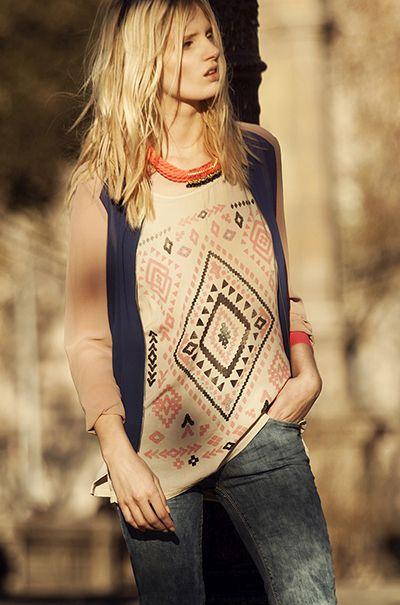 Stradivarius February 2013 Lookbook | Fashionisers.com - Tempted by the Passion for Fashion