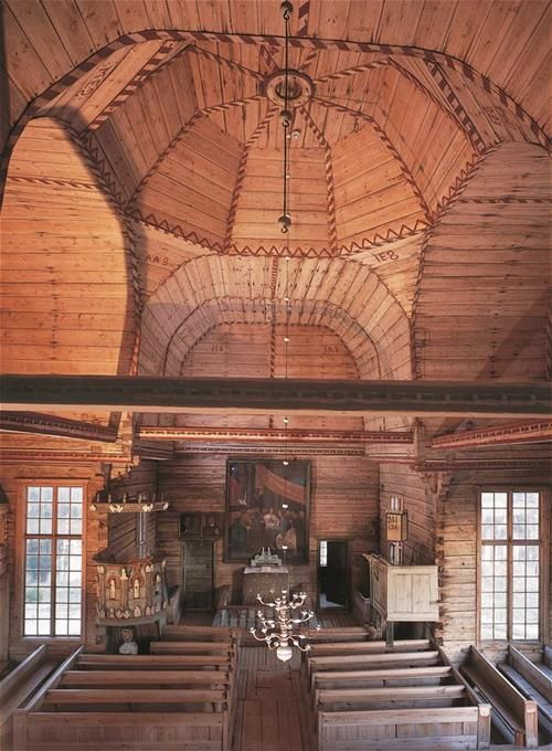 Petäjävesi Old wooden church, built in 1765, was recorded in 1994 by the UNESCO…