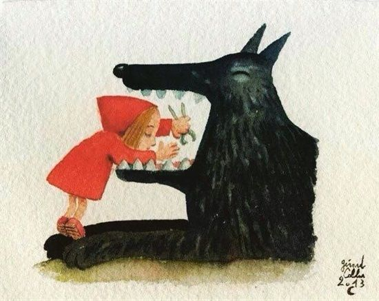 Dentaltown - Did you know Little Red Riding Hood was a dentist and the Big Bad Wolf was her patient?....
