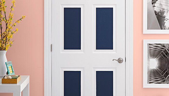 Decoracion de puertas con pintura
