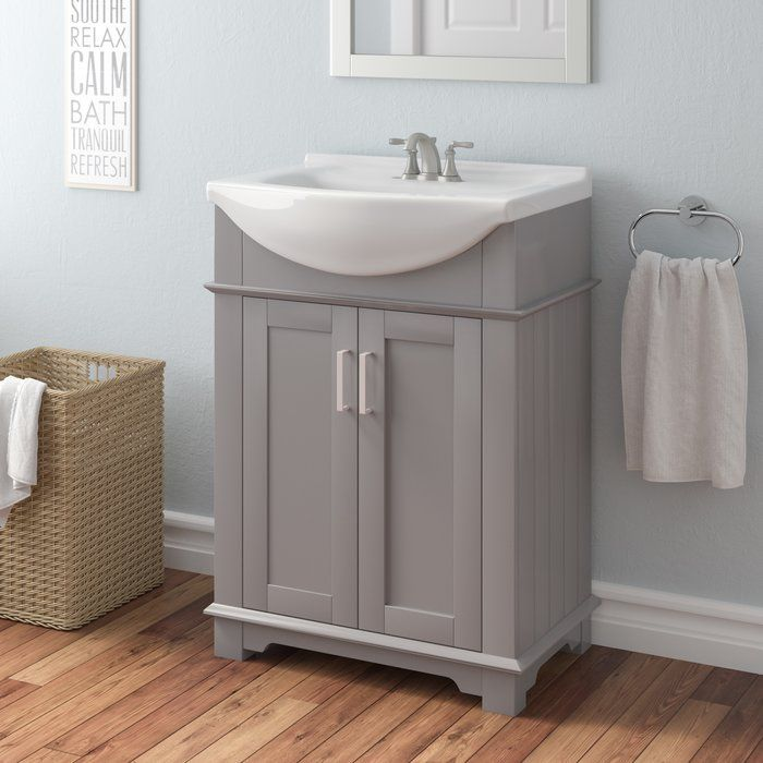 Willa Arlo Interiors Itzhak 24 Single Bathroom Vanity Set With