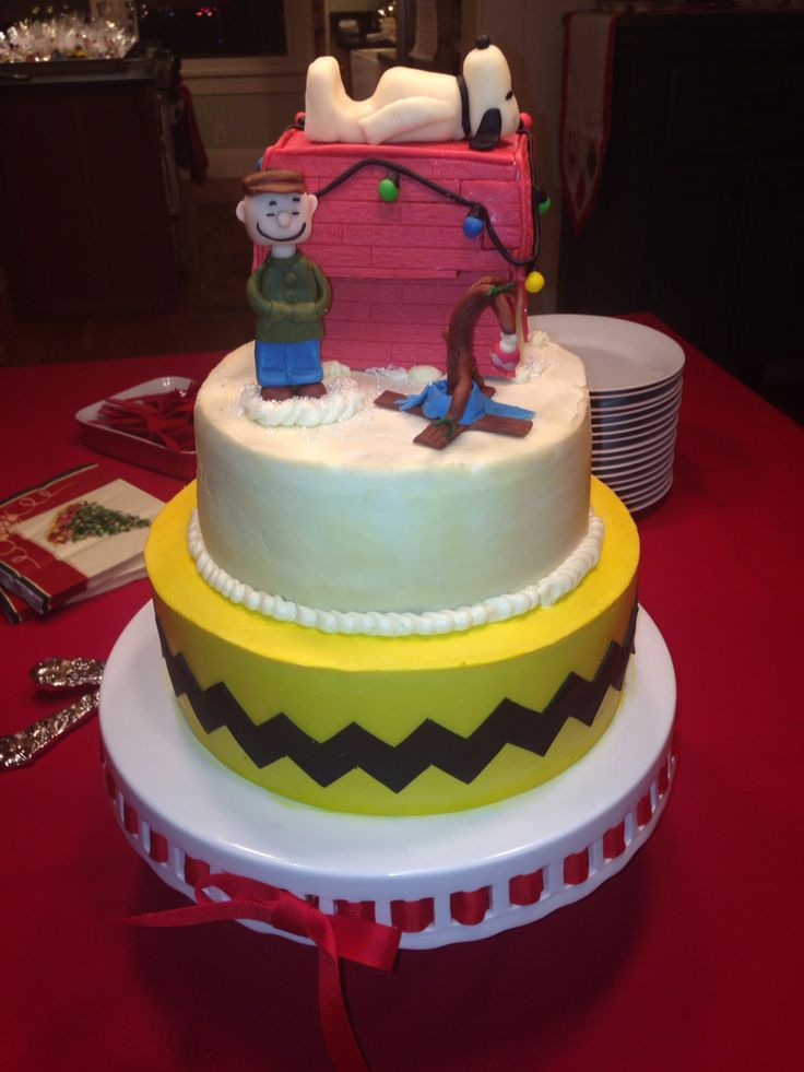 Cake Designs By Jackie Brown : 17+ best images about Charlie Brown cake ideas on ...
