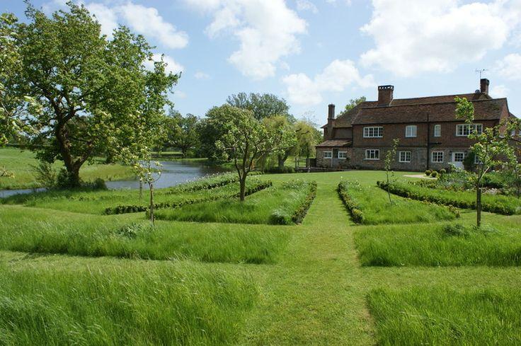 Farmhouse Landscape by Nigel Philips