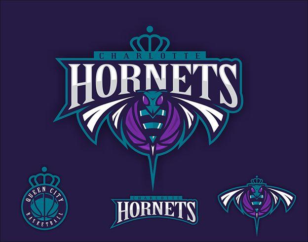 Logo design for the Charlotte Hornets Community Contest ...