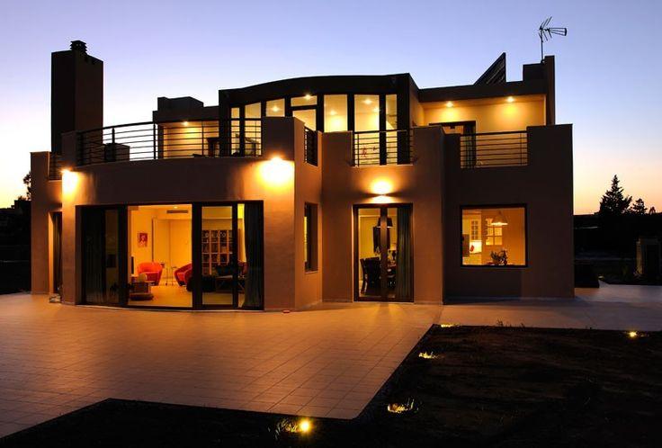 Afandou villa rental - Villa Trapezia Luxury 5 bedroom Villa in Rhodes with private pool and gym