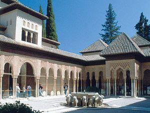 Az iszlám építészet két remeke: palota a mai Spanyolország területén