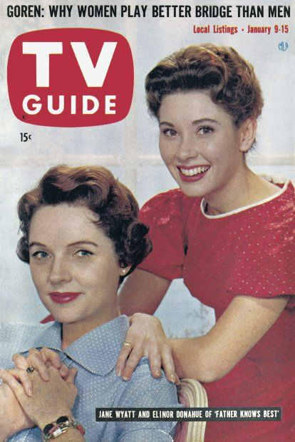 TV Guide: January 9, 1960 - Jane Wyatt and Elinor Donahue