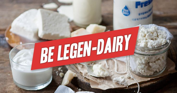 Be Legen-Dairy! 2015 is your year - Why cheat? More milk, more cheese more cream! ! All you need to know and all the support you will ever need: http://realmealrevolution.com/online-course . Re-pin and share with friends and family! #LCHF #Banting