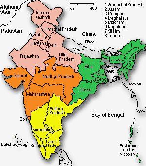 INDIA-Incredible & amazing: States Of India