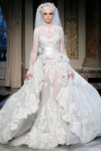 Perfect Be A Beautiful Elegant Bride By Zuhair Murad Wedding Veil Dresses