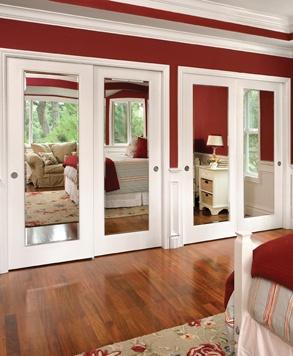 Trim and Mirrored sliding bypass closet doors. Windows and doors manufacturer u2014 JELD-WEN & 49 best Internal doors images on Pinterest   Internal doors Door ... pezcame.com