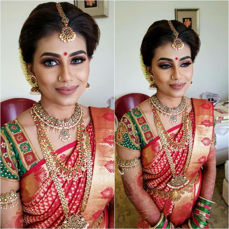 South Indian Bride SareesBride PortraitTraditional SareesWedding