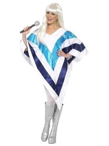 Super Trouper Cape - Adult Costume front