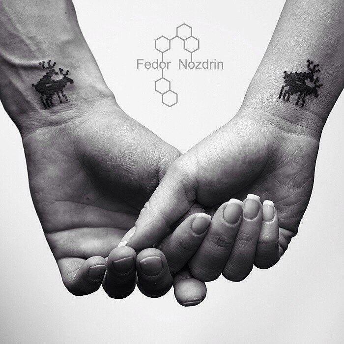 Парные татуировки | Fedor Nozdrin