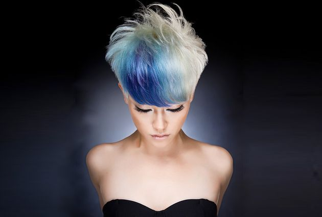 101 Best Images About Grey/white Hair Styles On Pinterest