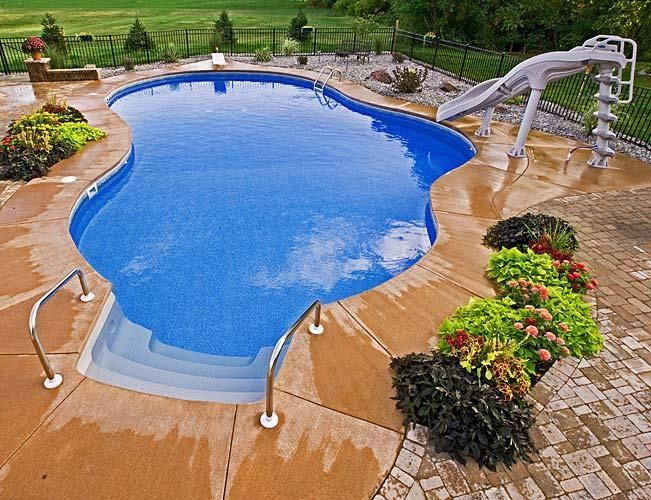 In Ground Pools Galleries Pettis Patio Hilton Ny 585 392